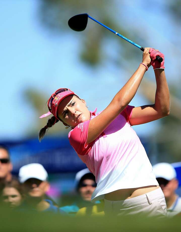 Lexi Thompson leads the LPGA's first major of 2016. Photo: David Cannon, Getty Images
