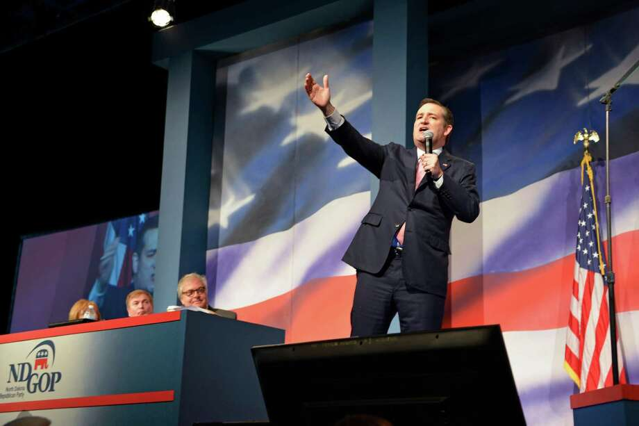 Ted Cruz sees Wisconsin as a chance to cut into Donald Trump's claim on working-class voters. Photo: Dan Koeck /New York Times / NYTNS