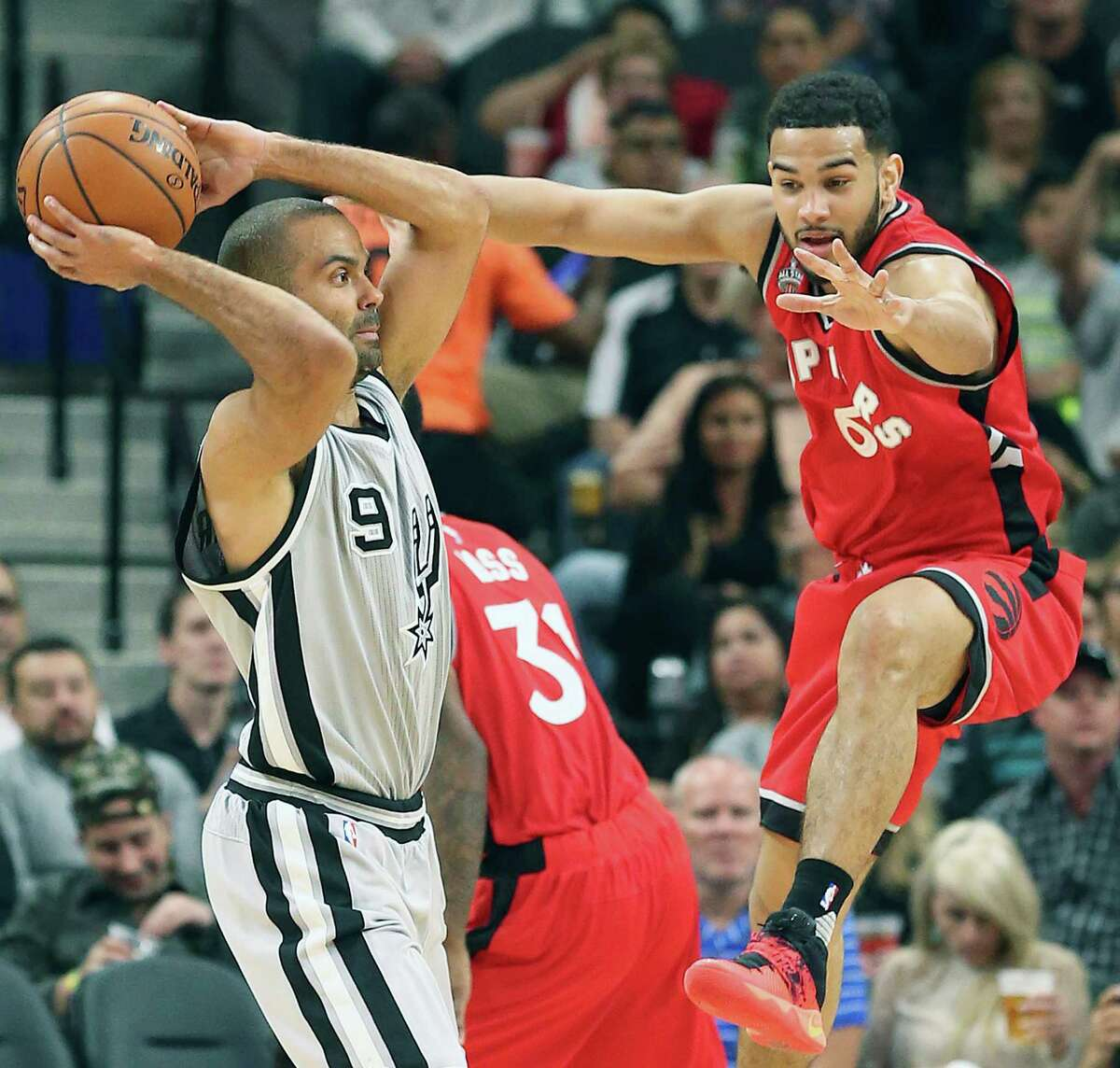 """Tony Parker says he is ready for this season's playoffs to begin. """"I feel good, a lot better than last year,"""" he said. """"Last year, I was basically hurt. This year, I feel healthy. """""""