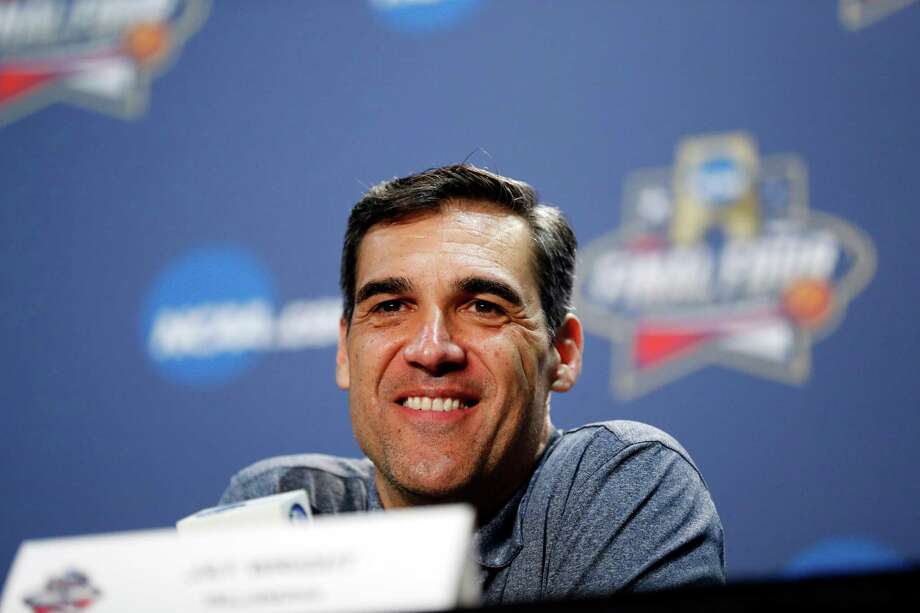 Villanova head coach Jay Wright answers questions during a news conference for the NCAA Final Four college basketball tournament Thursday, March 31, 2016, in Houston. (AP Photo/David J. Phillip) Photo: David J. Phillip, STF / AP