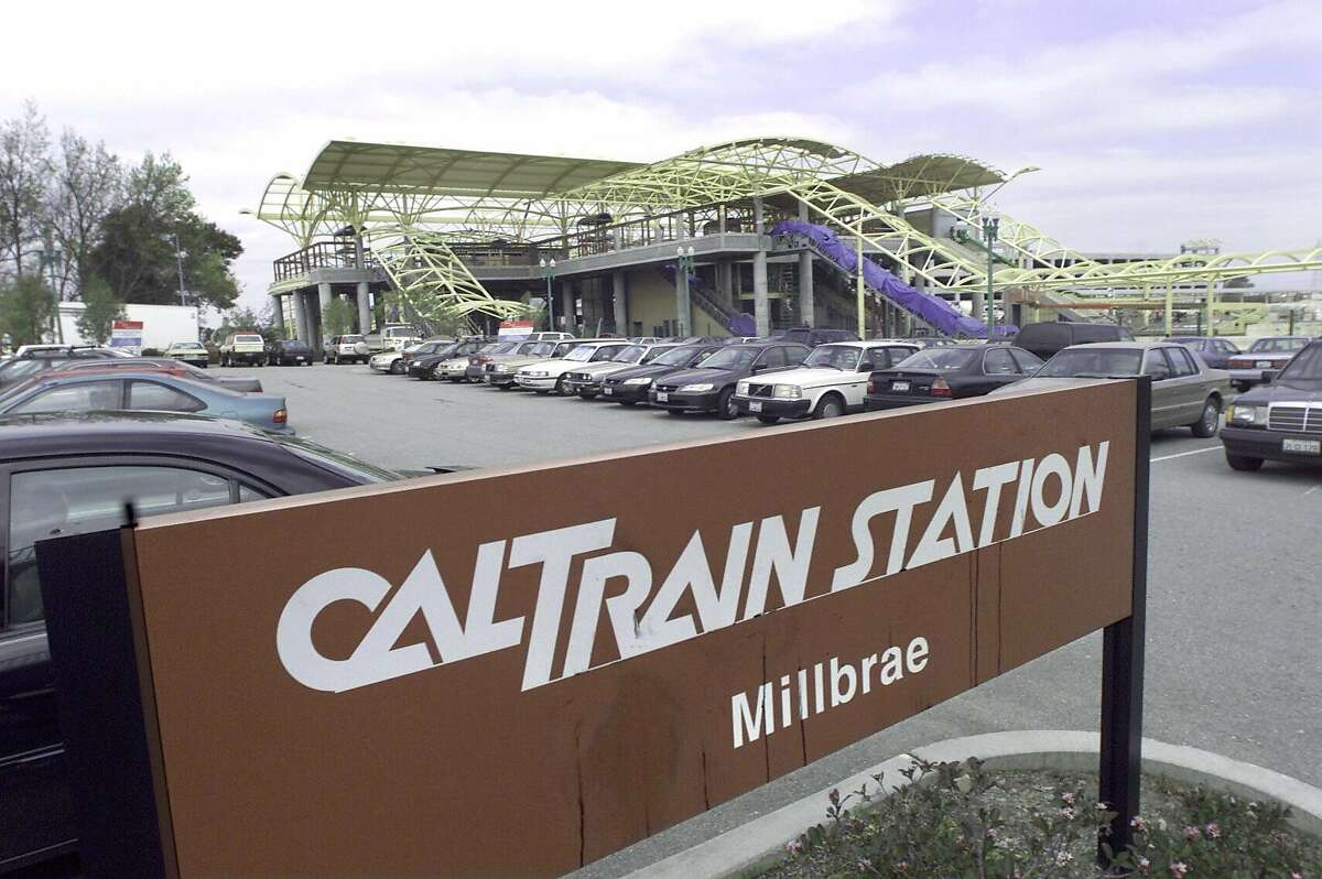 A southbound Caltrain struck and killed a pedestrian Saturday night near the Millbrae station.