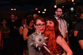 A hairy situation unfolded Saturday, April 3, 2016, at 502 Bar as the Alamo Beard Club put on Beard Con that featured an out of this world facial hair contest.