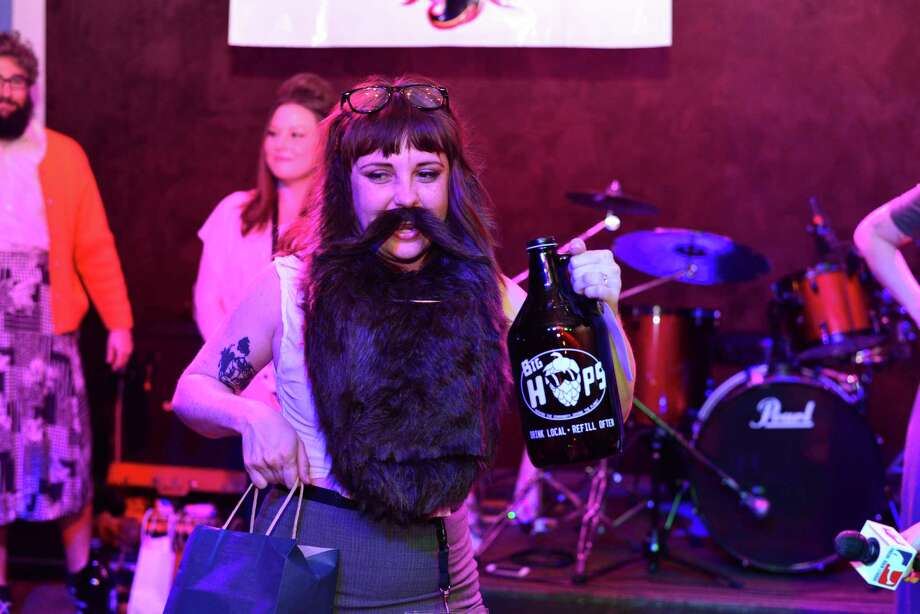 A hairy situation unfolded Saturday, April 3, 2016, at 502 Bar as the Alamo Beard Club put on Beard Con that featured an out of this world facial hair contest. Photo: By Kody Melton, For MySA.com