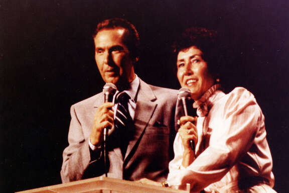 Dodie Osteen helped her husband John, a former Baptist, found Lakewood Church in 1959. She's still a prolific presence in the church's daily operations.