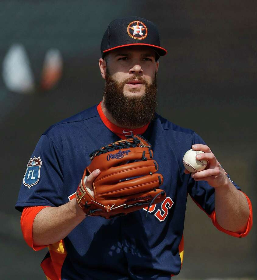 Dallas Keuchel is starting the Astros' season opener for the second year in a row. Photo: Karen Warren, Staff / © 2015  Houston Chronicle