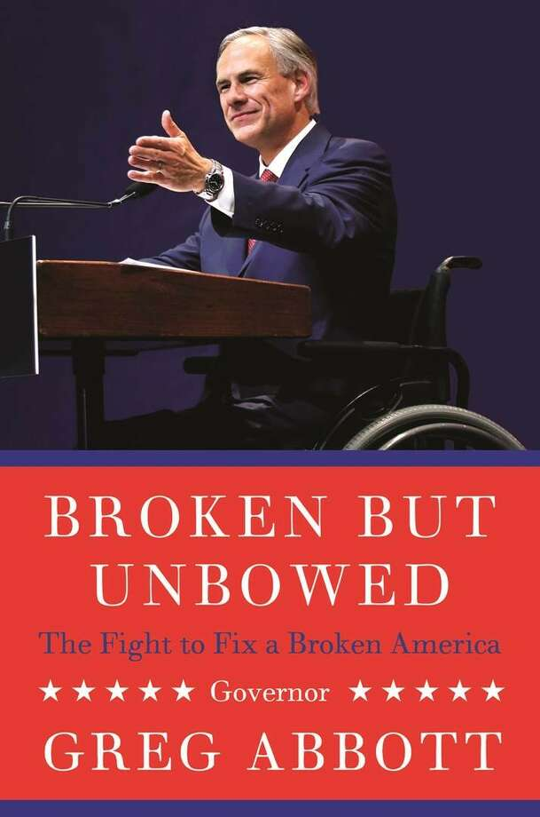 The cover of Greg Abbott's book, which will be released May 17.