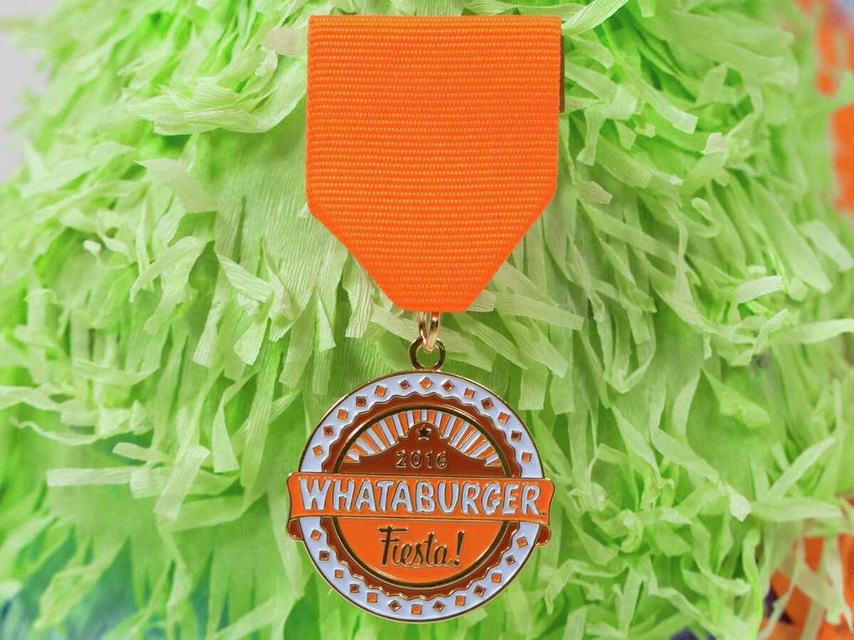 2016 Whataburger Fiesta medal