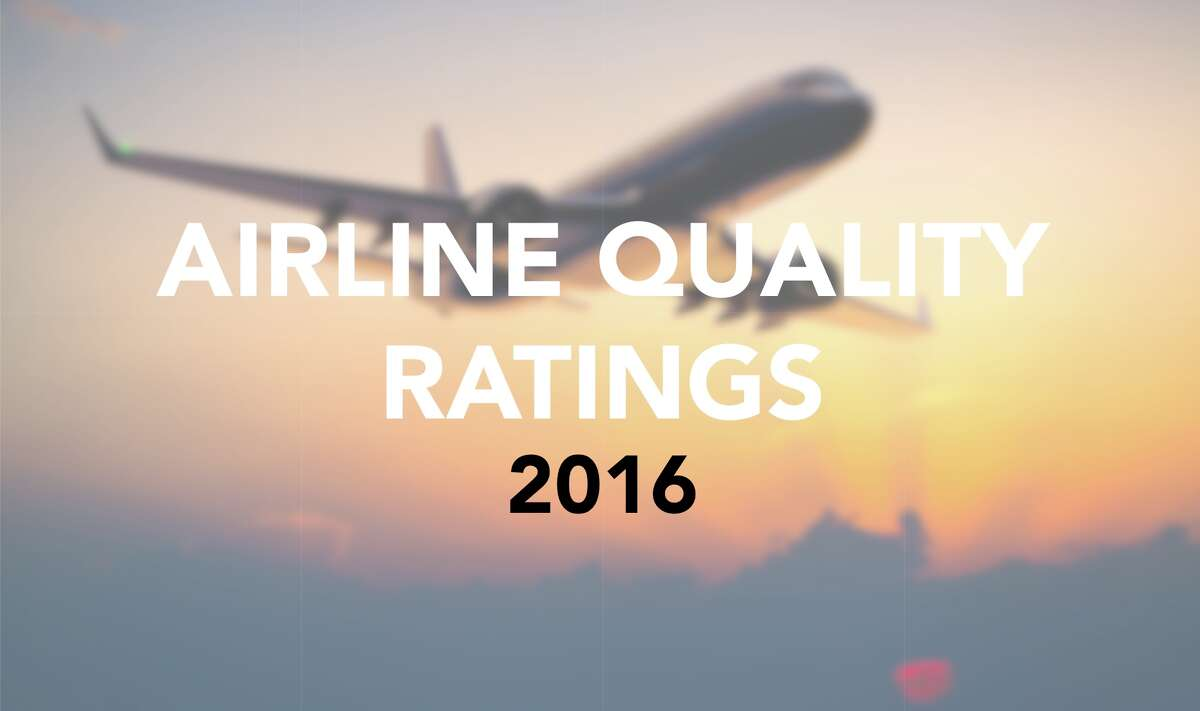"""Each year the 26th annual Airline Quality Rating report is released as a joint project by Wichita State University and Embry-Riddle Aeronautical University's Prescott, Arizona Campus. Click through these photos to see domestic airlines ranked (from worst to best) by """"on-time performance, rate of involuntary denied boardings, and the rate of mishandled baggage."""""""