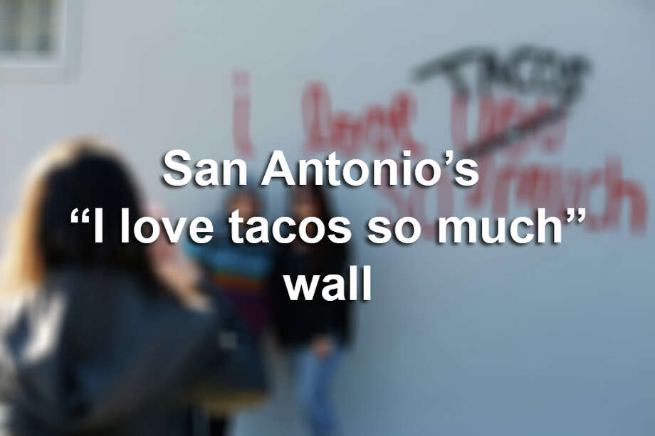 San Antonio has rebranded an iconic Austin landmark with an Alamo City twist to let everyone know when it comes to debating which city loves tacos more, there's no comparison. / ©2015 San Antonio Express-News