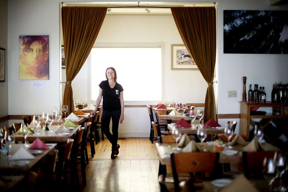Marie Beery opened the Saw Shop Gallery Bistro in Kelseyville 15 years ago. Photo: Sarah Rice, Special To The Chronicle