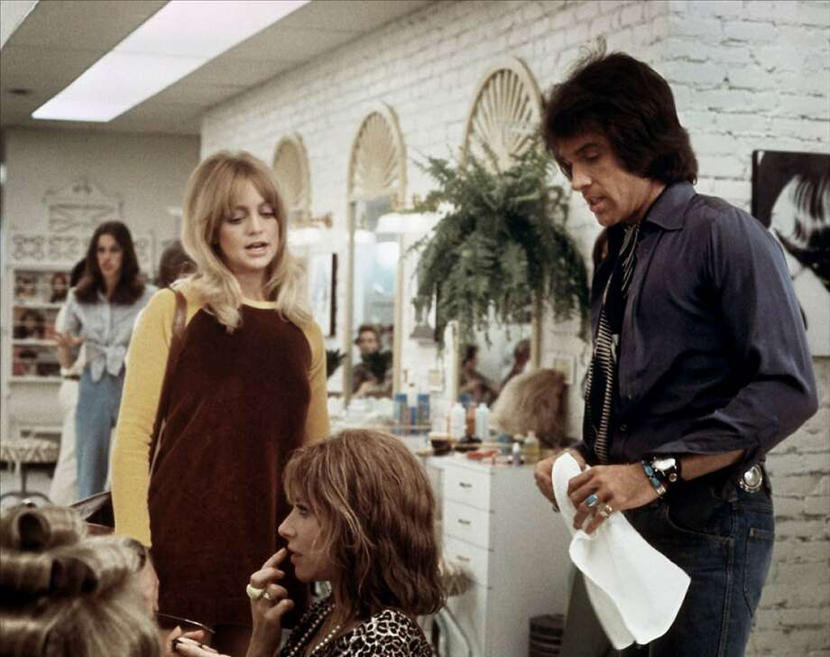 """""""Shampoo"""" (1975): Goldie Hawn, left, Lee Grant and Warren Beatty. Photo: Sony Pictures Home Entertainment."""