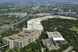 "It took five years to complete USAA's headquarters (dubbed ""the brag with backbone"") on the Northwest Side. It opened in 1976."