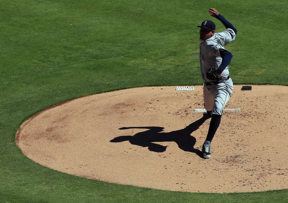 Felix Hernandez and the rest of the Seattle Mariners begin their 2017 season Monday night in Houston versus the Astros. Check out the following gallery to get acquainted with this year's M's team. Photo: Tom Pennington, Getty Images / 2016 Getty Images