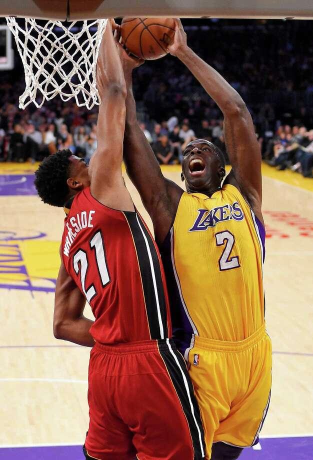 Jordan Clarkson, Karen WagnerCurrently a Los Angeles Lakers guard. Photo: Mark J. Terrill, AP / AP