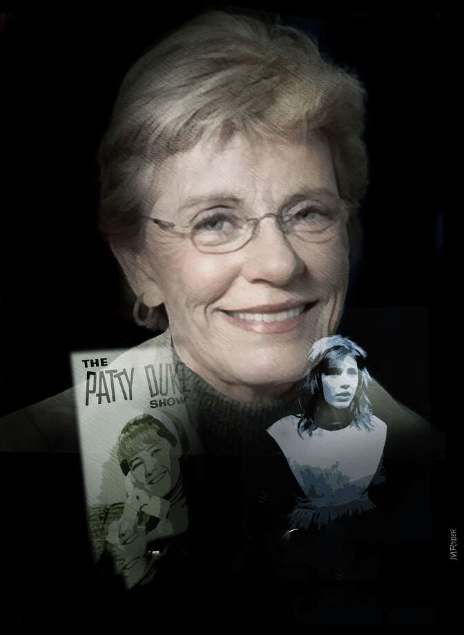 This artwork by M. Ryder refers to the death of actress Patty Duke. Photo: M. Ryder
