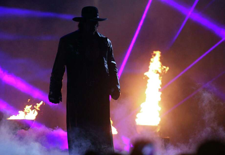 The Undertaker is one of many wrestlers to hail from the state of Texas. Photo: Richard W. Rodriguez, MBI / Star-Telegram