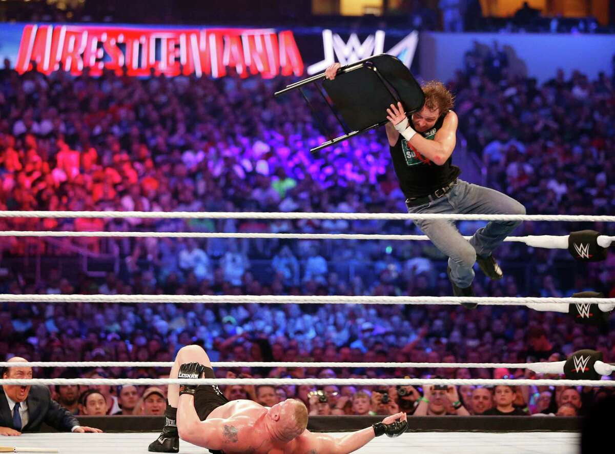 PHOTOS: WWE's 10 highest paid wrestlers 10. Dean Ambrose Wage in 2015: $1.1 million Keep clicking to see the others.