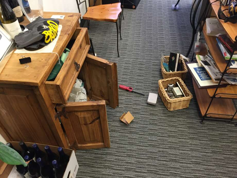 The Make-A-Wish Foundation office was burglarized Saturday night and several electronics and gift cards were taken. Photo: Courtesy Make-A-Wish Foundation