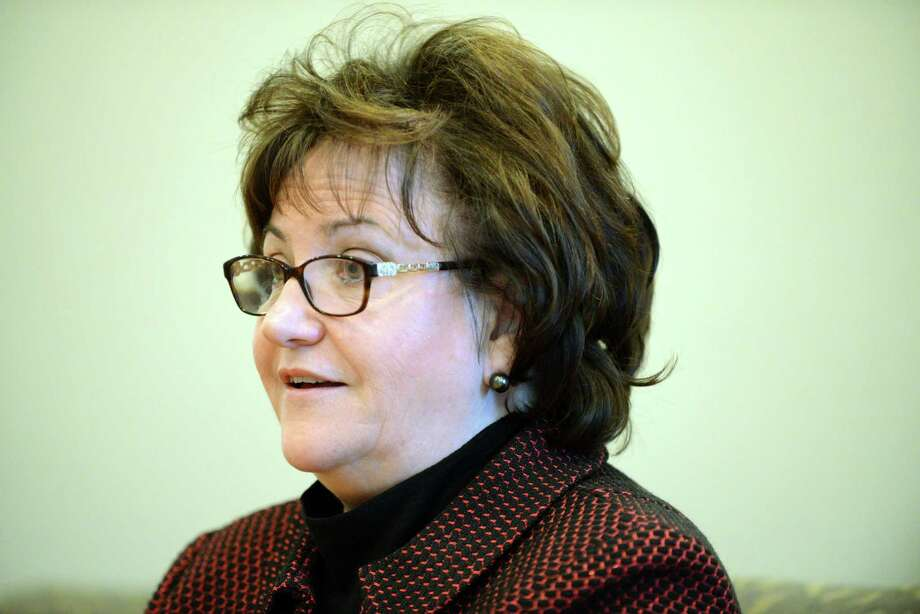 State Education Commissioner MaryEllen Elia meets with the Times Union editorial board on Monday, April 4, 2016, at the Times Union in Colonie, N.Y. (Will Waldron/Times Union) Photo: Will Waldron