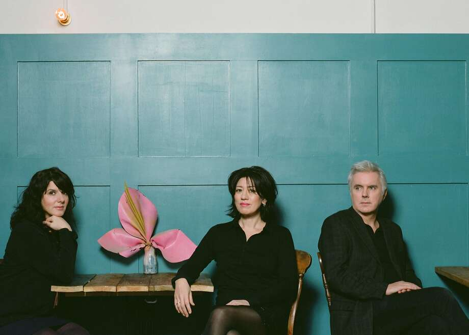 Lush : Emma Anderson (left), Miki Berenyi and Phil King. Photo: Windish Agency
