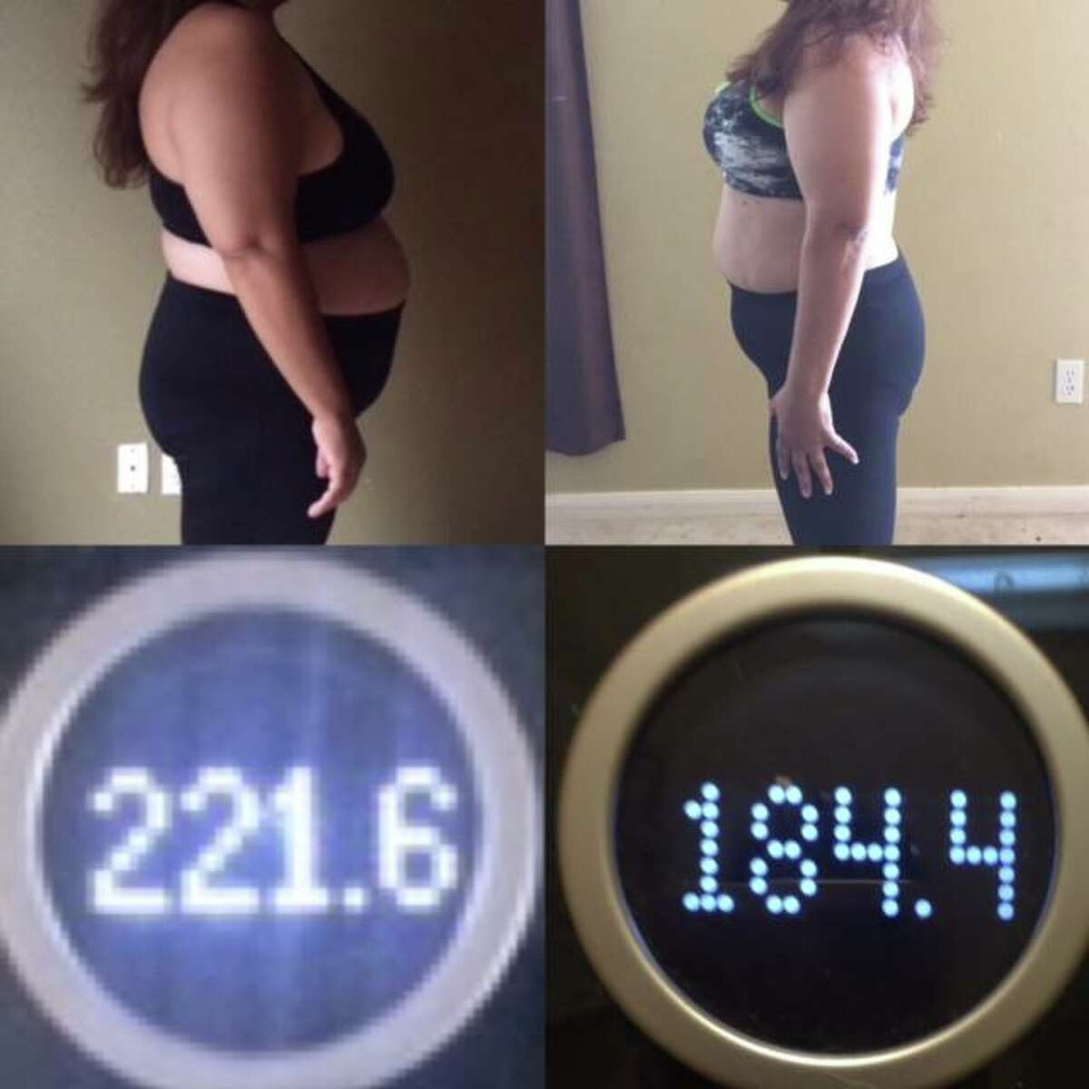 Michelle Trevino dropped more than 37 pounds with the free help of local trainer, Myra Perez.