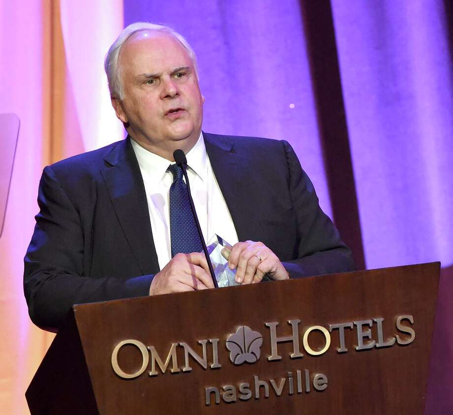 Frederick W. Smith, chairman, president and CEO of FedEx Corp., invested $5.25 million into LiveSafe, a smartphone app and mobile safety communications platform. Pictured, Smith is receiving the Outstanding Global Citizenship Award on behalf of FedEx at the T.J. Martell Foundation 8th Annual Nashville Honors Gala at the Omni Nashville Hotel on February 29, 2016 in Nashville, Tennessee.  (Photo by Rick Diamond/Getty Images for T.J. Martell) Photo: Rick Diamond, Staff / 2016 Getty Images