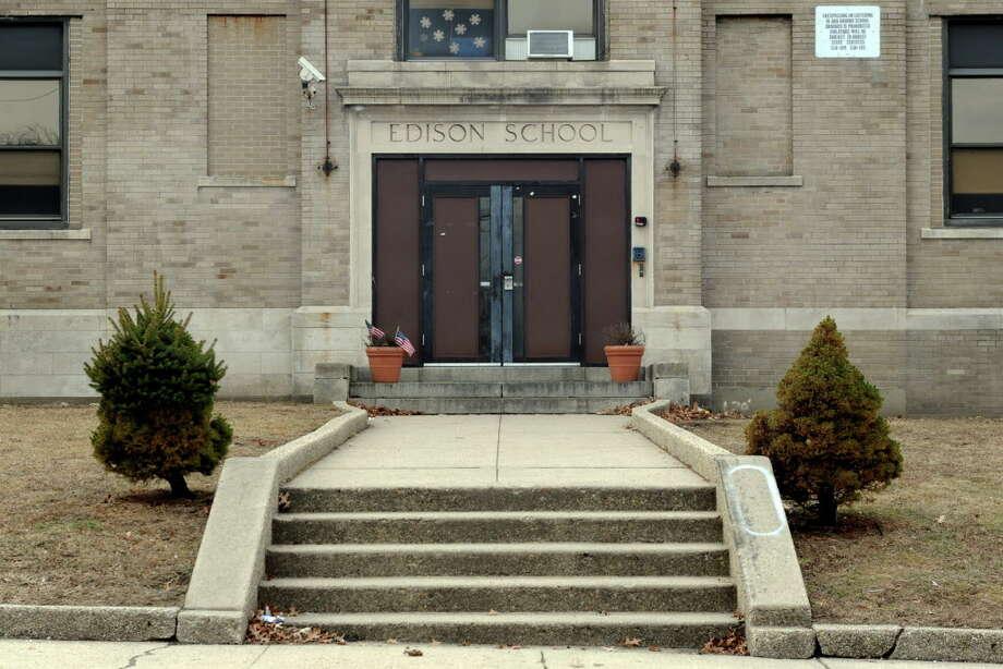 Edison School, 115 Boston Terrace in Bridgeport, Conn. Jan. 20. 2014. Photo: Ned Gerard / Ned Gerard / Connecticut Post