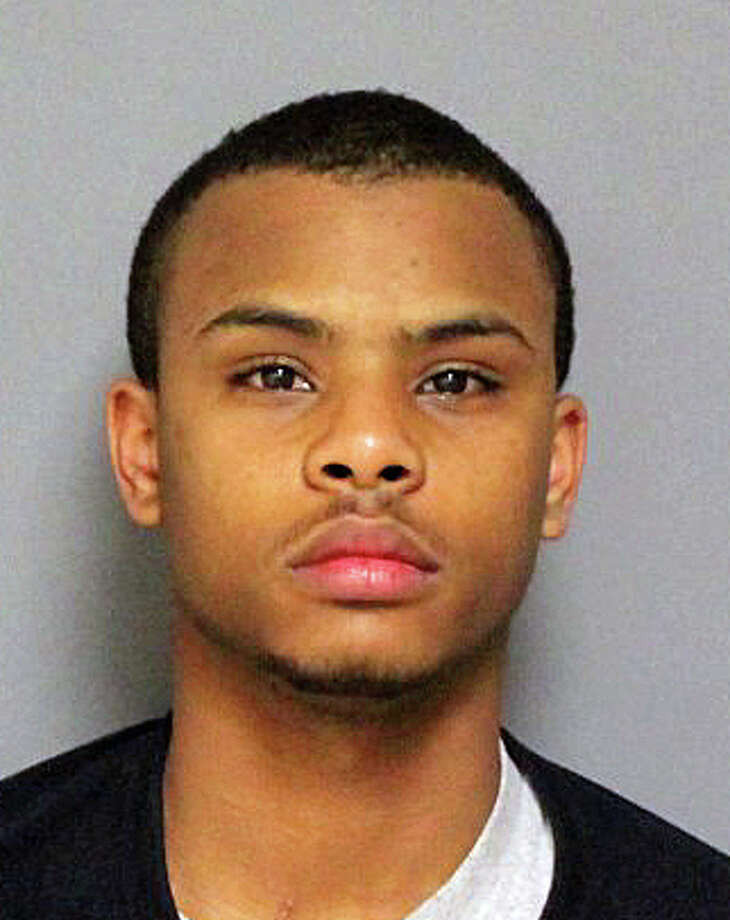 Kavon B. Polk, 19, of Fairfield, was arrested Monday night for robbing a Chinese food delivery man. Photo: Contributed Photo / Hearst Connecticut Media / Fairfield Citizen contributed