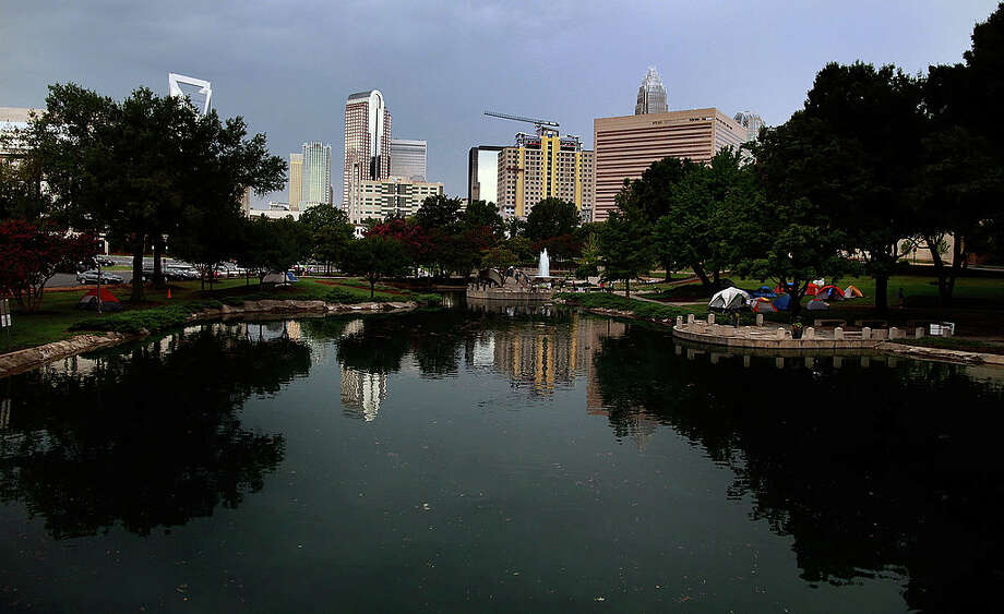 Cities with the largest number of new residents from July 2014 to July 201510. Charlotte, N.C.New Residents: 17,695Population: 827,097Average Commute Time: 24.5 minutes Photo: Tom Pennington, Getty Images / 2012 Getty Images