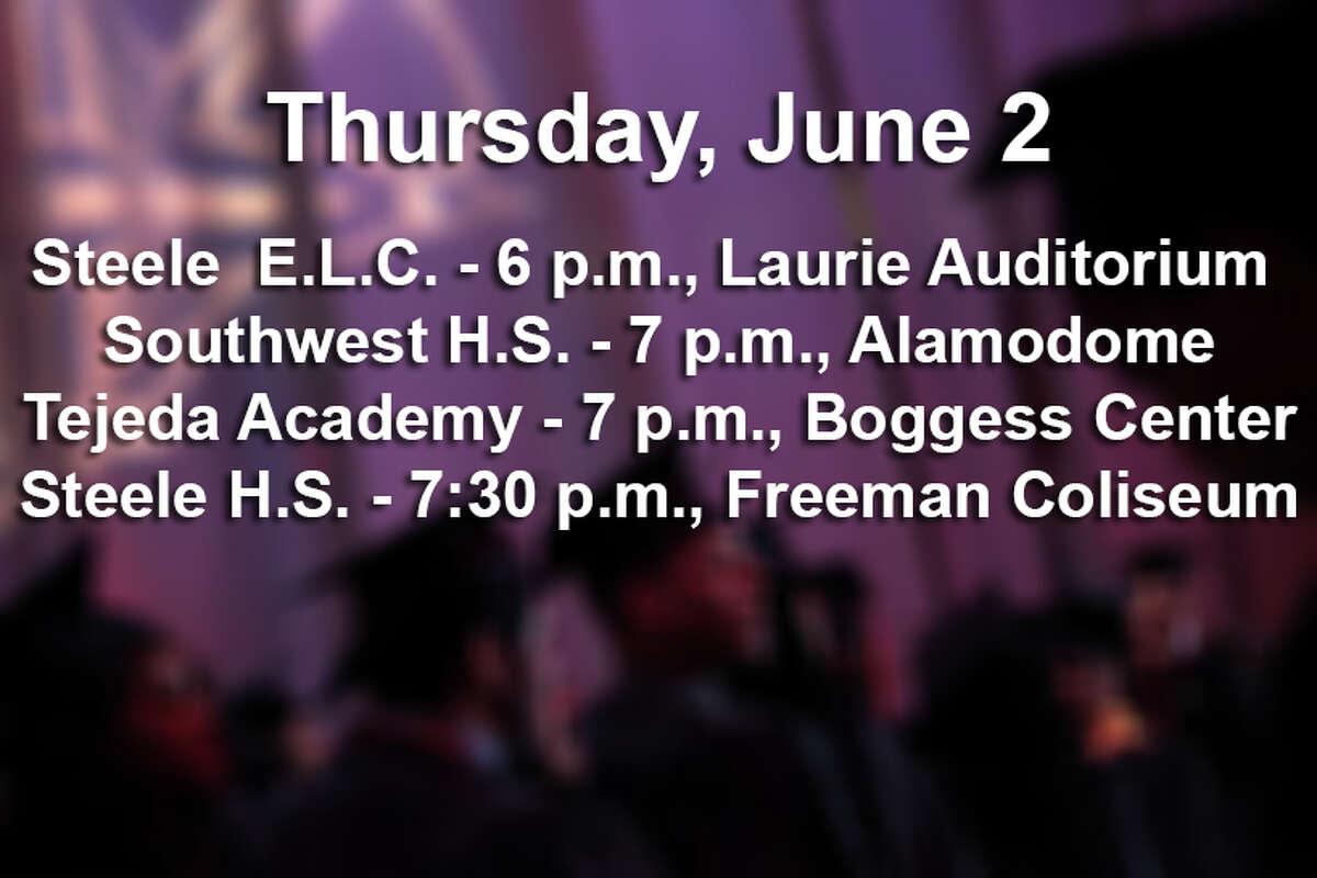 Graduations on Thursday, June 2, 2016.