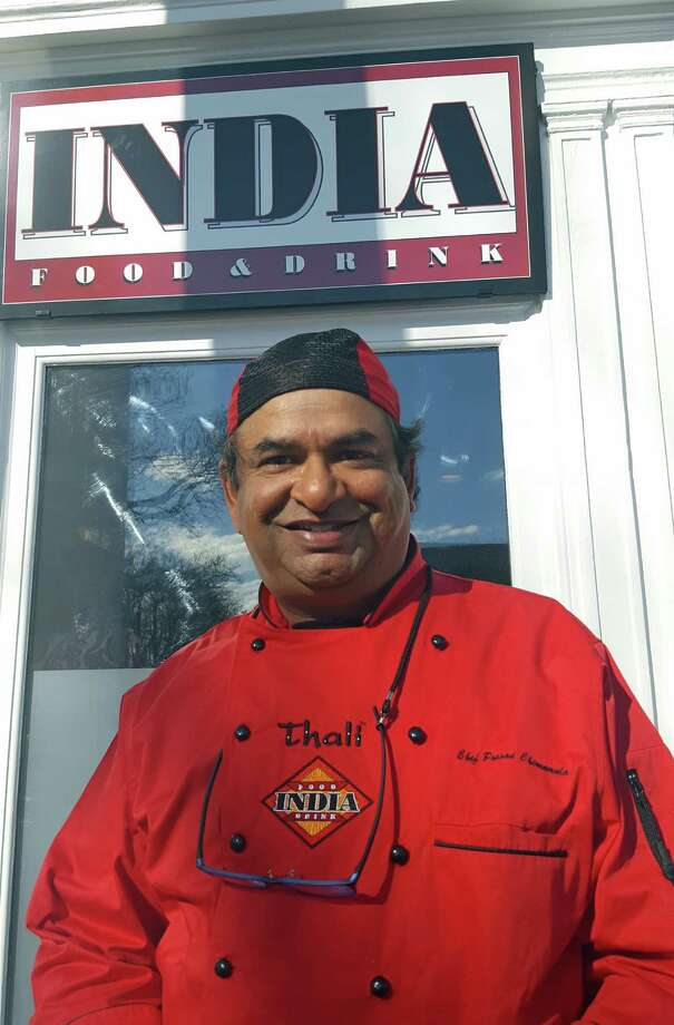 Chef Prasad Chirnomula has opened his latest restaurant, INDIA, at 62 Main St. in New Canaan. Photo: Thane Grauel / Hearst Connecticut Media / Darien News
