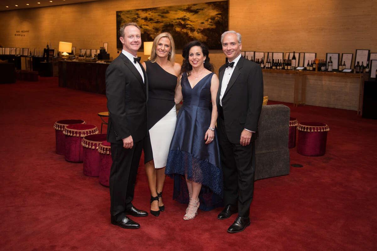 Billy and Christie McCartney, Viviana and David Denchaud
