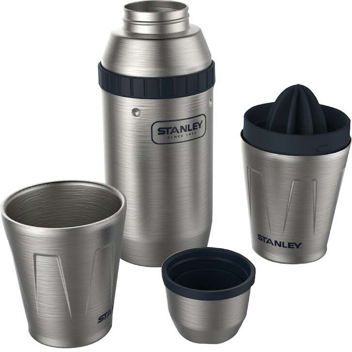 With the Stanley Adventure Happy Hour 2X System, you can bring your cocktail-making materials to the campground, on a hike, or even on that kayak trip.
