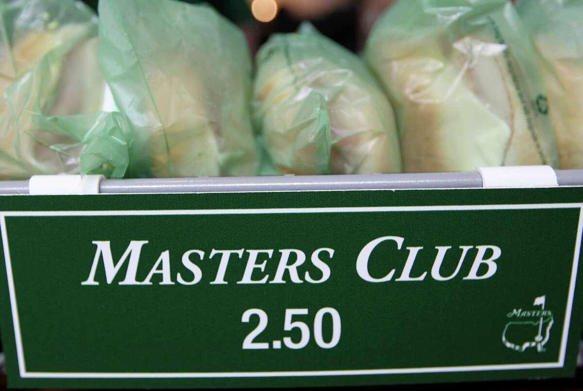 Masters Club sandwich $2.50