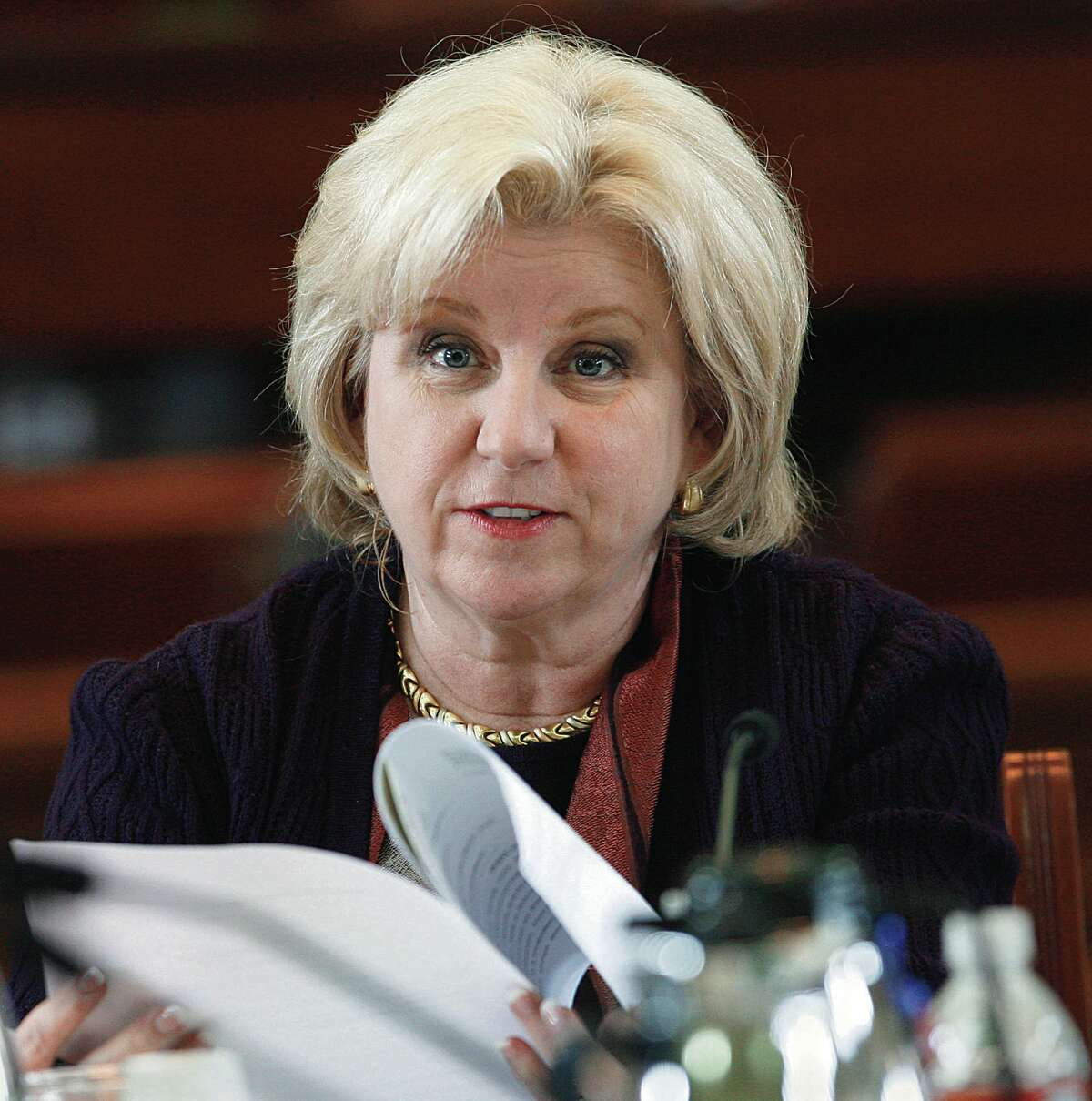 Sen. Jane Nelson, chair of the Texas Senate Finance Committee, said lawmakers in 2017 should review and tighten the state's emergency leave rules.