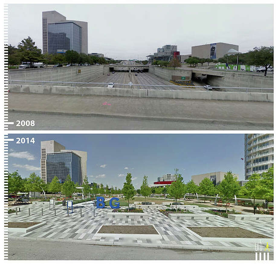 Klyde Warren Park, Dallas, Texas (2008 - 2014) Photo: File/Google Street/Urb-i