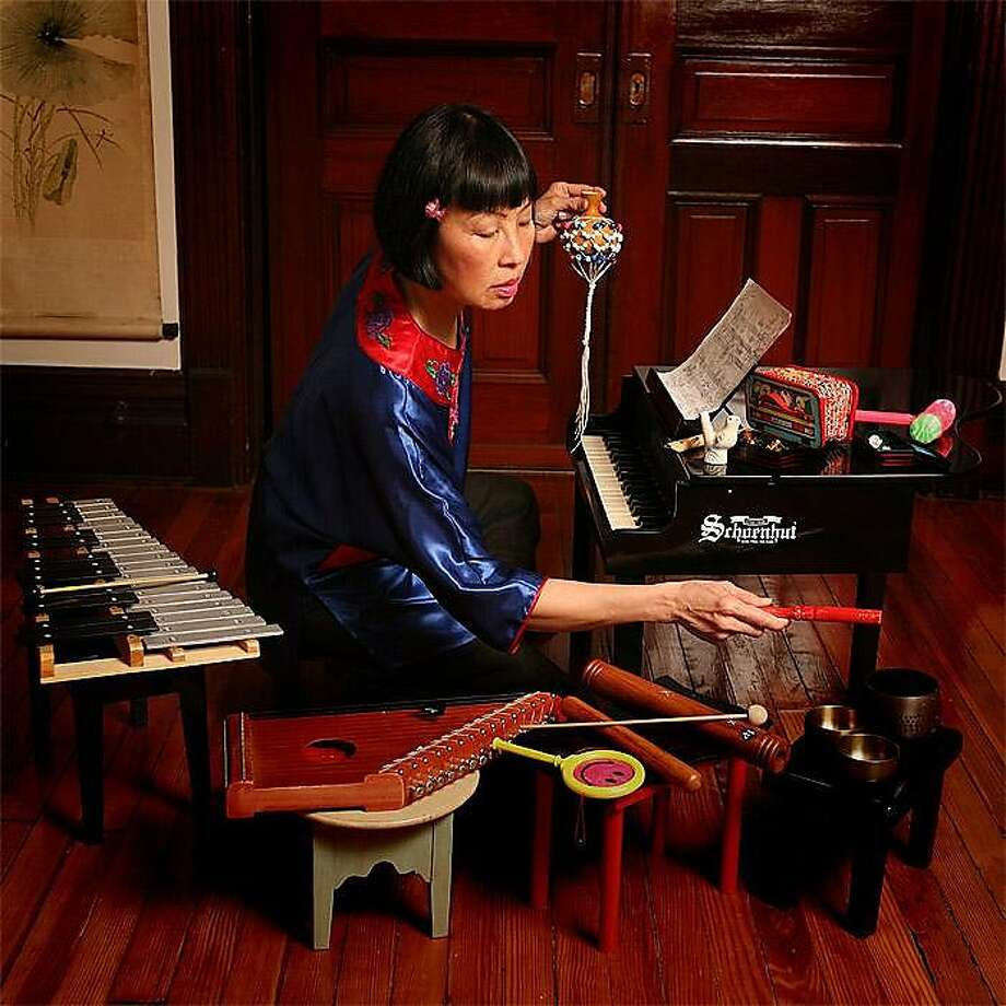 Pianist Margaret Leng Tan makes music from toys. Photo: Michael Dames