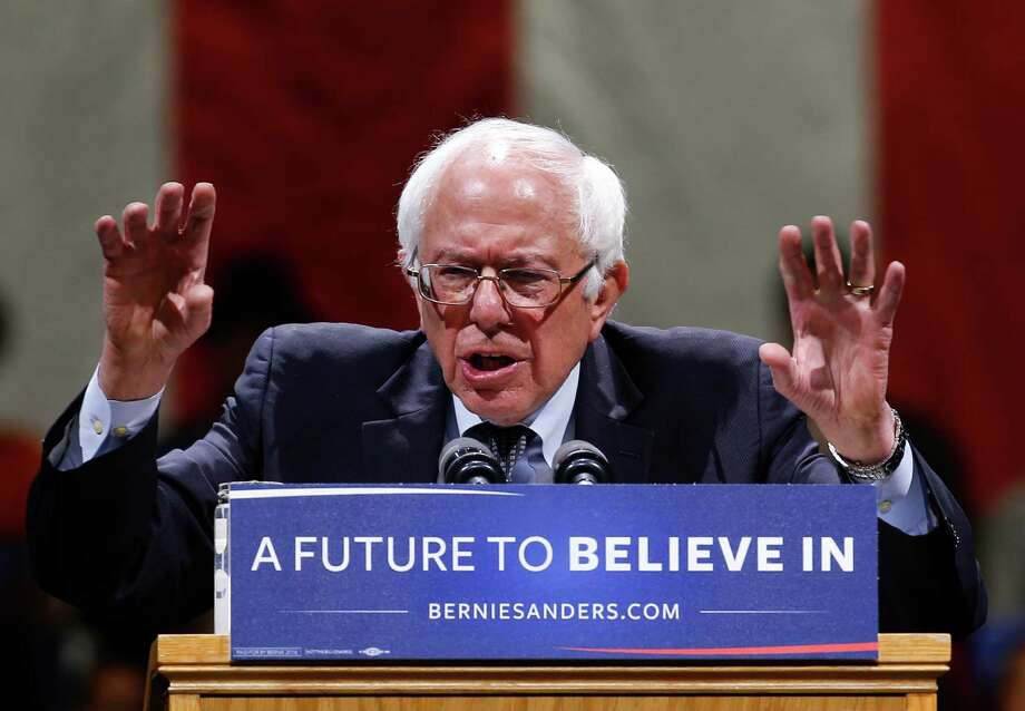 Democratic presidential candidate Bernie Sanders has never been a team player. The impressive sums Sanders raises go to his campaign only. Clinton raises money for her campaign and for other Democrats down the ticket. Photo: Paul Sancya /AP / Copyright 2016 The Associated Press. All rights reserved. This material may not be published, broadcast, rewritten or redistribu