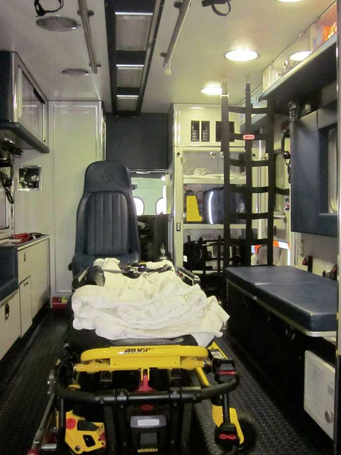 One of Darien's Post 53 ambulances. Photo: File / Hearst Connecticut Media / Darien News