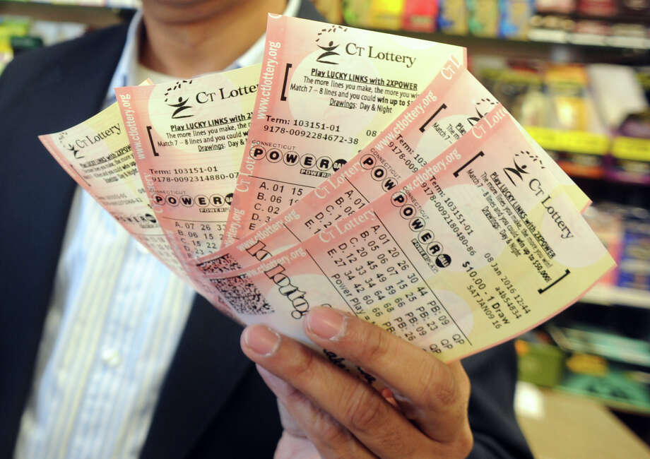 A Powerball ticket that was sold in Fairfield County for the Dec. 5 Powerball drawing remains unclaimed. After June 2, 2016 it's worthless. Photo: Ned Gerard / Hearst Connecticut Media / Connecticut Post