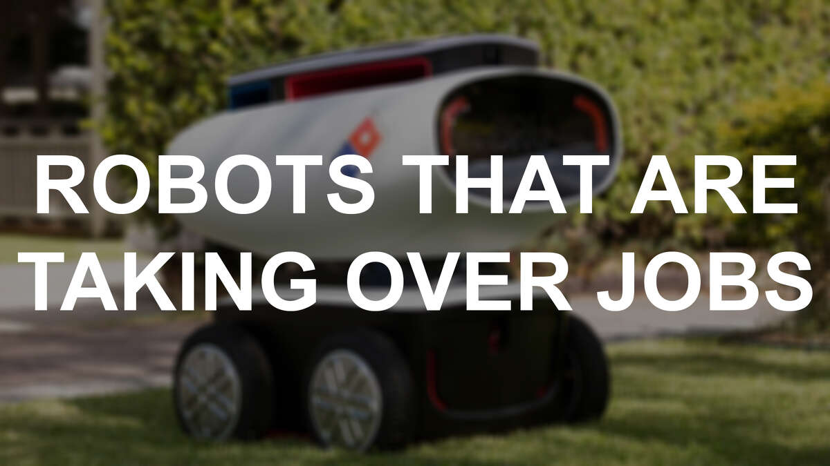 Robots that are taking over jobs