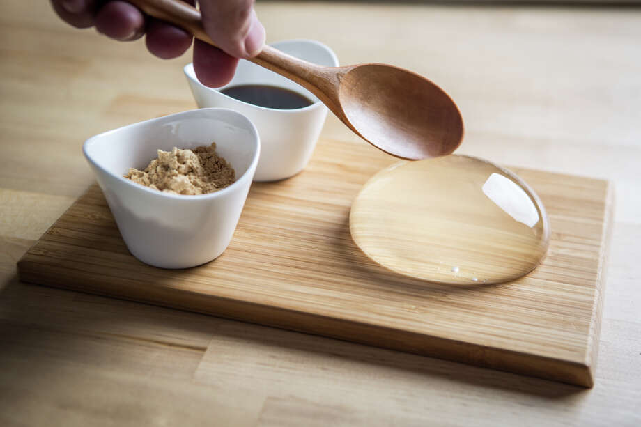 "The Raindrop cake, originating in Japan, has made its way to the states and is becoming hugely popular as the next ""trendy"" dessert.Photo Courtesy of: Tim Ireland Photo: Photo Courtesy Of: Tim Ireland"