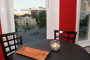 View of the Alamo from 1718 Steak House