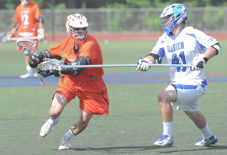 Mark Evanchick, the 2015 Hearst Connecticut MVP in boys lacrosse, Photo: Bob Luckey Jr. / Hearst Connecticut Media / Greenwich Time