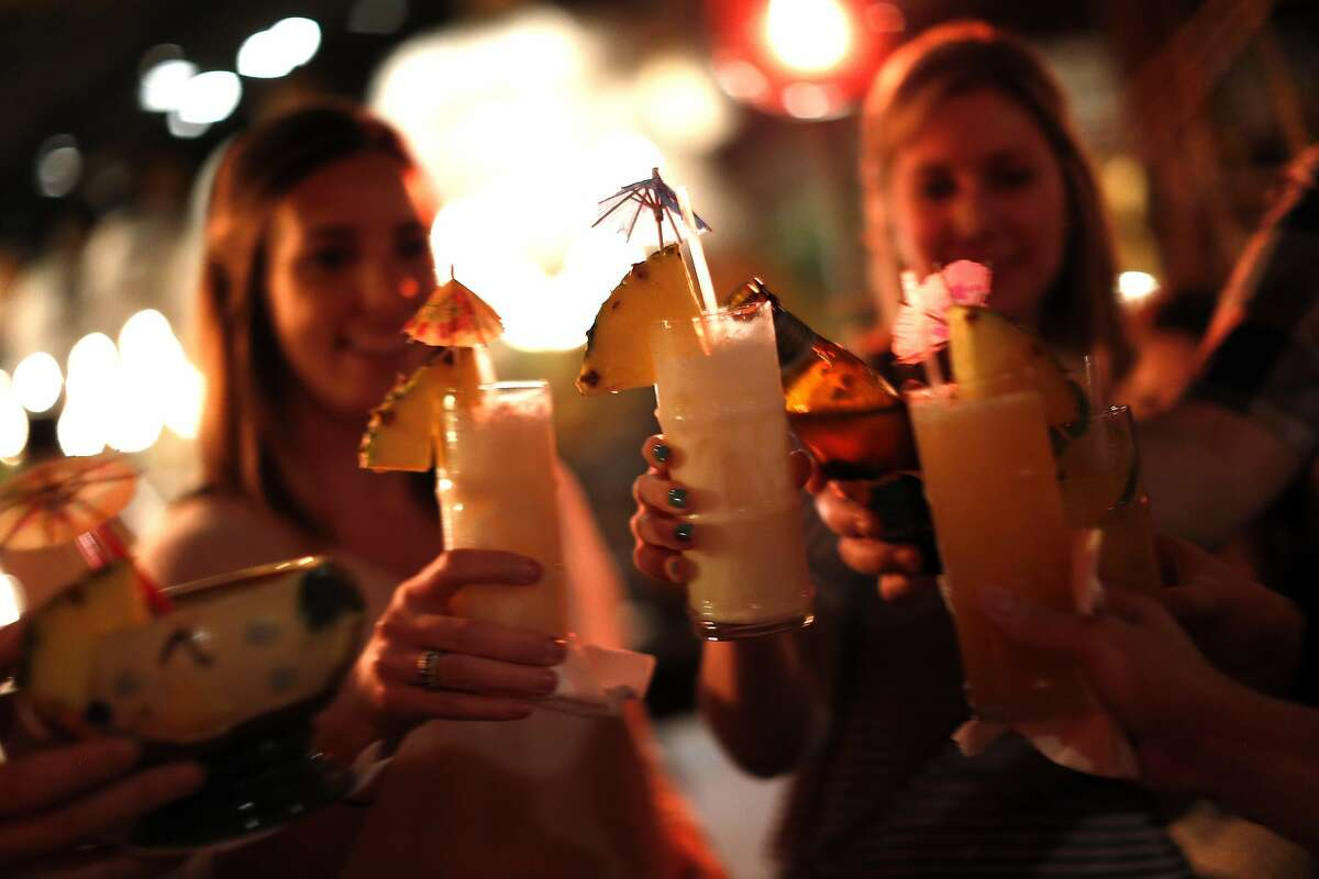 Better happy hour culture. Better deals and more creative menus that are offered for a longer stretch of time. Sorry 4 p.m. to 6 p.m. just doesn't cut it. Tip: The Tonga Room's happy hour (pictured), Wed. to Fri., 5 p.m. to 7 p.m., is an SFGATE favorite.
