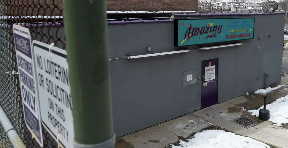 The Amazing Intimate Essentials adult store which was burglarized early Wednesday April 6, 2016 in Troy, N.Y.    (Skip Dickstein/Times Union) Photo: SKIP DICKSTEIN / 10036096A
