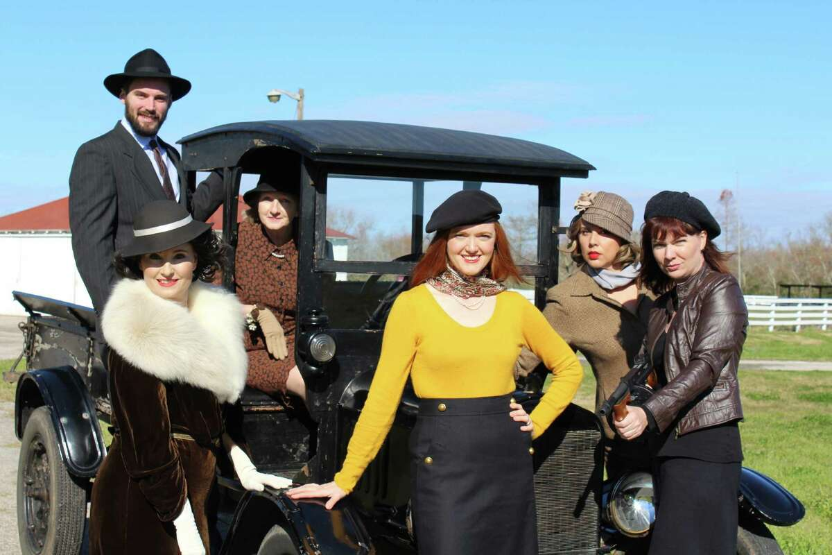 Merritt Peele, Dottie Allen, Claire Rogers, Jessica Avery, Rose Nurre and Shereen Sampson are ready for this year'?'s Lone Star Stomp April 16 at George Ranch Historical Park. Visit www.fortbendmuseum.org/lone-star-stomp.html or call 281-342-1256.