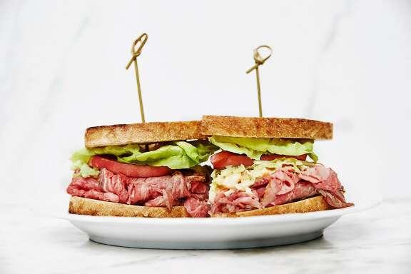 Vivian's Prime Rib-eye Sandwich