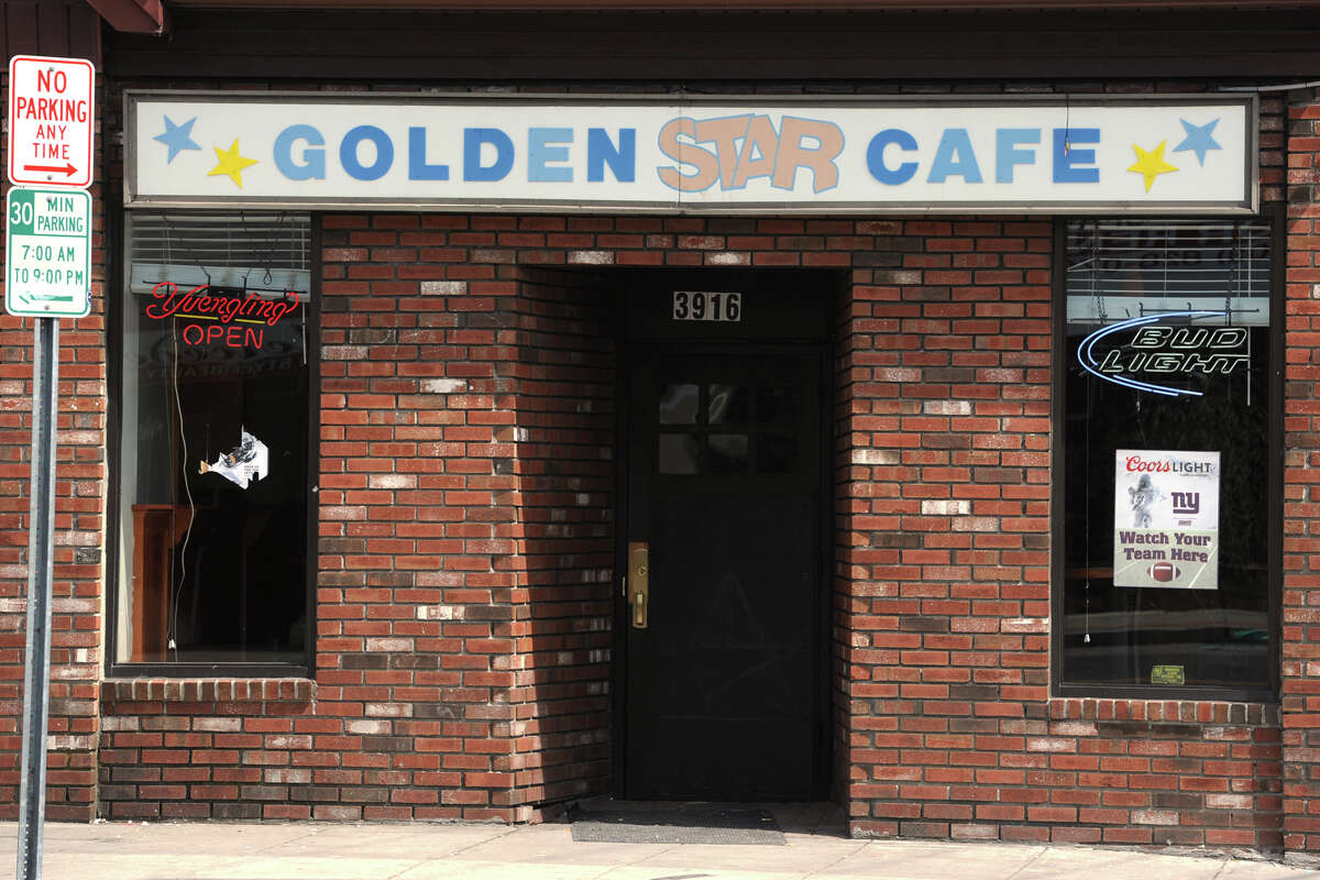 Golden Star Cafe, 3916 Main St. in Bridgeport, was raided by Bridgeport police Tuesday night. Police issued 85 infractions for underage drinking.
