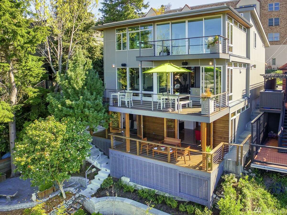 This home, 1121 9th Ave. W., is listed for $2.325 million. The four-bedroom, 3.5-bathroom home has a private mother-in-law unit, terraced gardens, a wine cellar and three decks. You can see the full listing here.